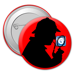 GoutPal Detective Badge