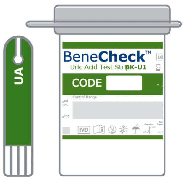 Where is Benecheck Uric Acid meter Support?