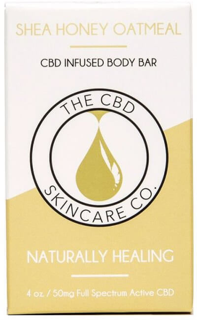 CBD Oil body bar for Gout