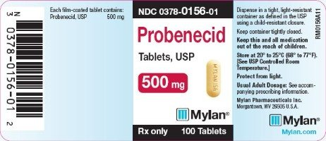 Probenecid for Gout package
