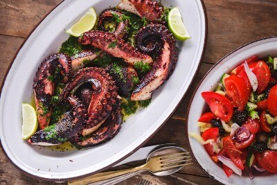 Greek-style Octopus for Gout photo